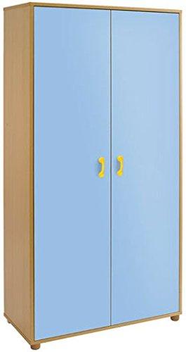 Armario Tam5, 2 puertas 5 huecos