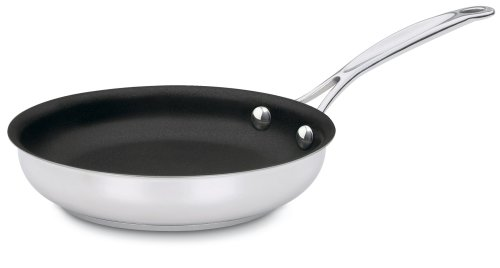 Cuisinart 722-18NS Chef's Classic Stainless Nonstick 7-Inch Open Skillet (6 Non Stick Fry Pan compare prices)