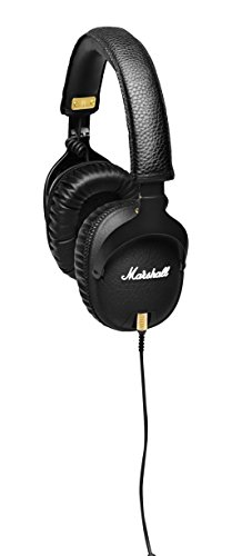 Marshall Headphones M-ACCS-00152 Monitor Headphones, Black