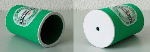 Manchons isolants néoprène pour maintien fraîcheur des bouteilles 0,5 L (2 pièces) - Modèle « Chang », vert foncé (2x70240)