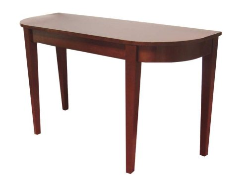 Cheap Dark Brown Cappuccino Console Sofa Entry Table (B001PW0NMM)