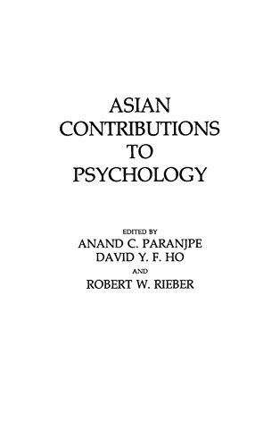 Asian Contributions to Psychology