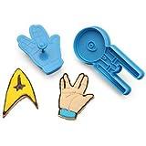 Star Trek Cookie Cutters (Set of 5) by Think Geek