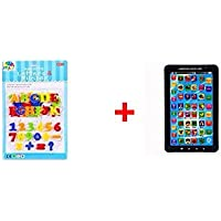 Smiles Creation Combo Of Educational Learning Magnetic Letters And Number And P1000 Kids Educational Learning...