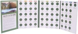 Littleton America The Beautiful Commemorative Quarter Folder 2010 2021 LCF40D; 3 Items/Order