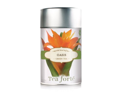 Tea Forte Loose Leaf Tea Canister - Oasis