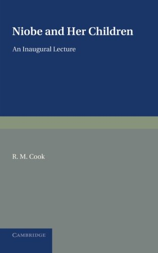 Niobe and her Children: An Inaugural Lecture