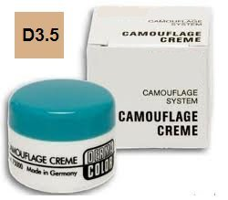 Dermacolor Professional Camouflage System Creme, D3.5, 25ml
