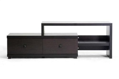 Baxton Studio Blythe Modern Asymmetrical Tv Stand