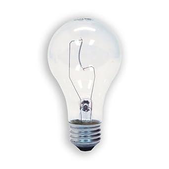 ge lighting 72529 60 watt a19 garage lighting door opener 2 pack. Black Bedroom Furniture Sets. Home Design Ideas