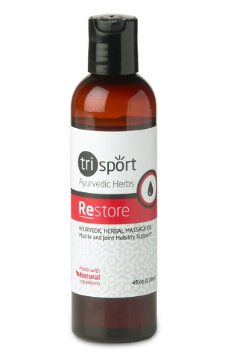 Restore Herbal Anti-inflammatory Oil, Pain Relief Treatment For Discomfort Associated With Tennis Elbow, Carpal Tunnel Syndrome, Arthritis, Bursitis, Tendonitis, Sciatica, Fibromyalgia, Shin Splints, Etc. Post Workout Soreness and Recovery*
