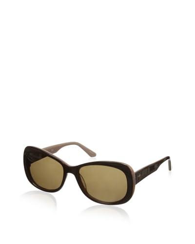 Thierry Mugler Women's TR2005 Sunglasses, Brown/Pink
