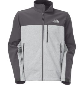 The North Face Apex Bionic Soft Shell Jacket - Men's-Highrisegryhtr/Vanadisgry-L by The North Face