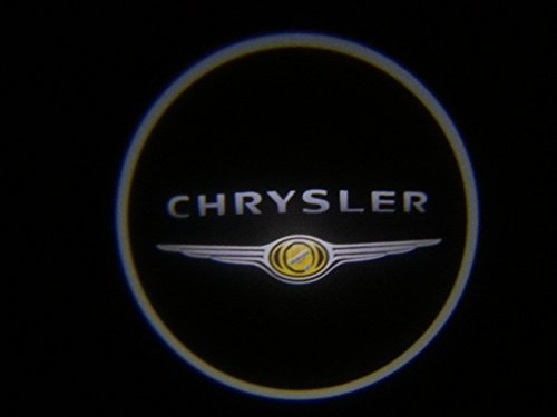 Chrysler Ghost Door Logo Projector Shadow Puddle Laser Led Lights 7w (Qty 2) SHIPS FROM USA (Dub Spinners Wheels compare prices)