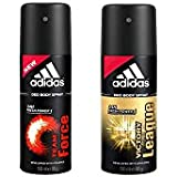 Adidas Team Force, Victory League Deo Combo Pack , (Pack Of 2)