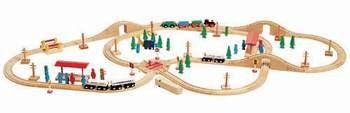 100-Piece Train Set