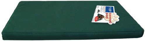 Nap Pet Bed Kennel Pad Pet Bed, Green, 36-Inch By 24-Inch