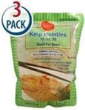 Sea Tangle - Kelp Noodles - 3 Pack - 12 oz. each