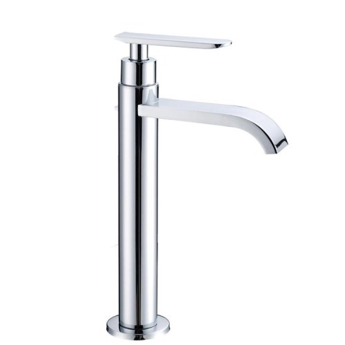 Best Review Of Sprinkle® Contemporary Chrome Brass One Hole One Handle Cold Water Basin Tap Bathtub...
