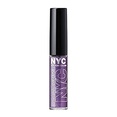 N.Y.C. New York Color Sparkle Eye Dust, Amethyst Dazzle, 0.105 Ounce