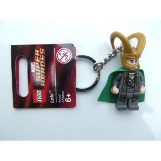 LEGO Loki Key Chain 850529 Marvel Super Heroes Mini Figure Keychain (Lego Marvel Key compare prices)