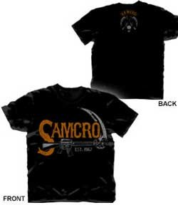 Trenz Shirt Company Sons Of Anarchy Vintage Samcro Sickle T-shirt at Sears.com