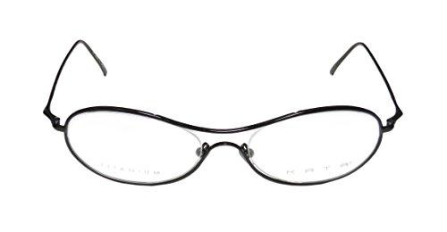 Kata Mondo Womens/Ladies Optical Famous Designer Oval Full-rim Titanium Eyeglasses/Spectacles (56-19-140, (Atlanta Braves Skin Suit Kids Costume)