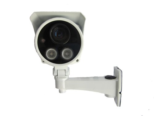 Huacam Hcv701 1.3 Megapixel Hd Outdoor Poe Ip Camera With Night Vision, H.264 & Mjpeg Video Format,1/3 Coms Sensor,2.8Mm Wide View Angle.