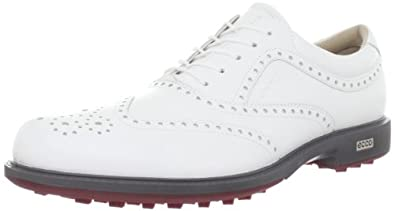 ECCO Mens Tour Hybrid Wing Tip Golf Shoe by ECCO