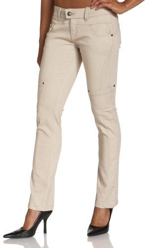 YMI Juniors Skinny Cargo Pant, Khaki, 1