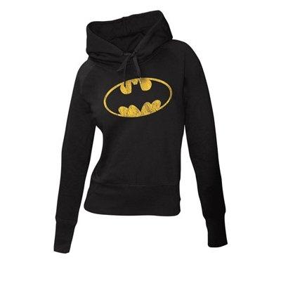 Batman Logo Felpa donna nero L
