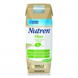 Nutren® 1.0 Fiber-Flavor Vanilla Calories 250 / 250 Ml Packaging 250 Ml Tetra Prisma - Case Of 24