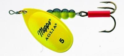 Mepps Agila Fluo Gr.3 6,5g Chartreuse Barsch Hecht