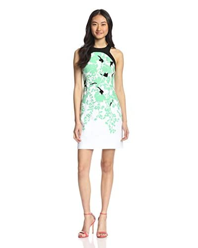 4.collective Women's Nolita Floral Fitted Dress