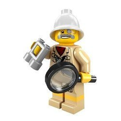 LEGO-Minifigure-Collection-Series-2-LOOSE-Mini-Figure-Jungle-Explorer-by-LEGO