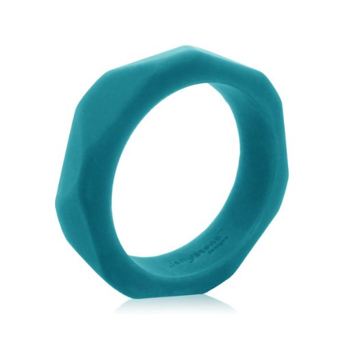 Jellystone Fan Bangle Teether - Turquoise Baja Green