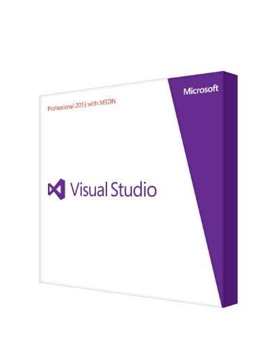 Microsoft Visual Studio Pro w/MSDN Retail 2013