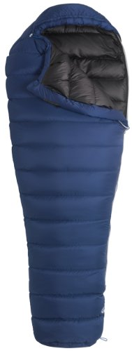 Marmot Helium MemBrain Down Sleeping Bag, Regular-Left, Blue