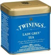 Twinings Lady Grey Tea, Loose Tea, 3.53-Ounce Tin