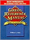 Gregg Reference Manual, Basic Worksheets: Grammar, Usage, and Style (002804049X) by Sabin, William A