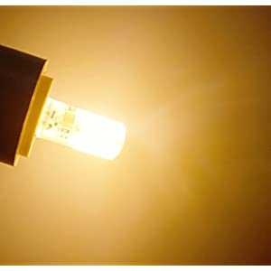 Bonlux LED 電球 E12 3W 110V 5個入 電球色 48-3014smd 発光角360° 冷蔵庫、ベンチレーター、盆提灯、室内の装飾などに最適!