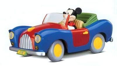 Cheap Burago Die Cast Disney Mickey's 113 Car, 1:18 scale (B000UTVJ6A)