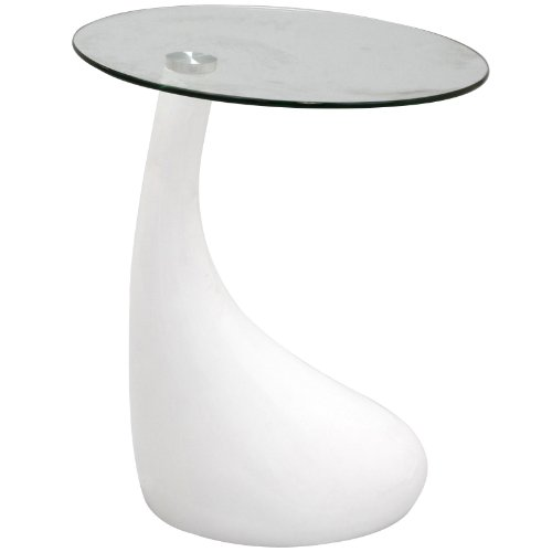 Cool How About Lexmod Teardrop Side Table In White Rydercollitsrsd Creativecarmelina Interior Chair Design Creativecarmelinacom