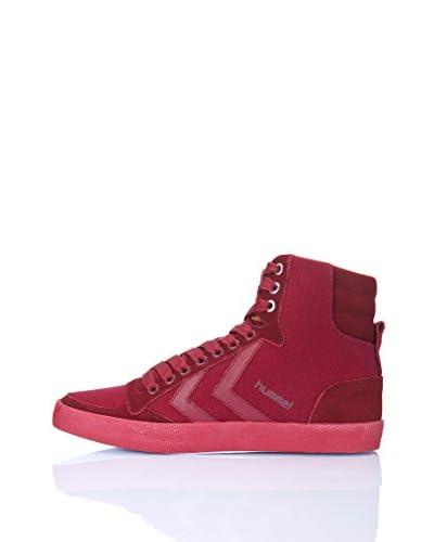 Hummel Sneaker Slimmer Stadil Delux Hg [Rosso]