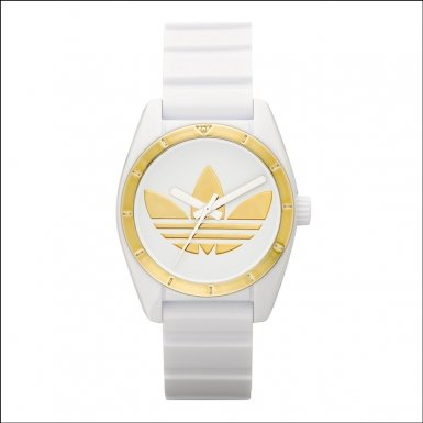 20b1f2cfe2c Adidas ADH2808 Santiago Mini White Watch - Mnnonoezaonoenorae