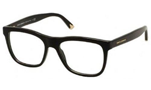 Dolce & Gabbana Dg3108 Eyeglasses-501 Black-53Mm
