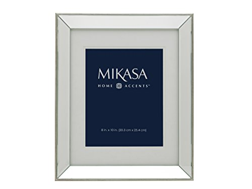 Mikasa Mirror Frame, 13 by 16-Inch and 11 by 14-Inch, Champagne (Mirror Frame compare prices)