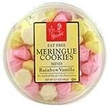 Miss Meringue Meringue Cookies Minis Fat Free Rainbow Vanilla -- 5.1 oz