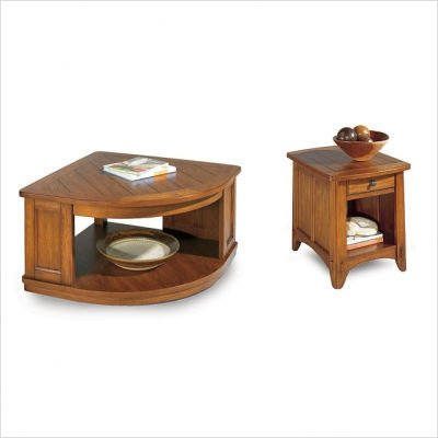 Kenilworth Lift Top Cocktail Wedge Table Set