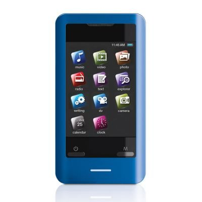 Best Buy Coby MP828-8GBLU 8 GB 2 8-Inch Video MP3 Player